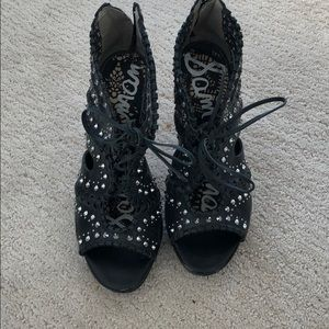Studded cages heels by Sam Edelman